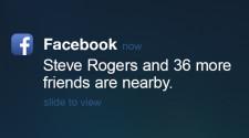 Facebook Nearby Friends Screen