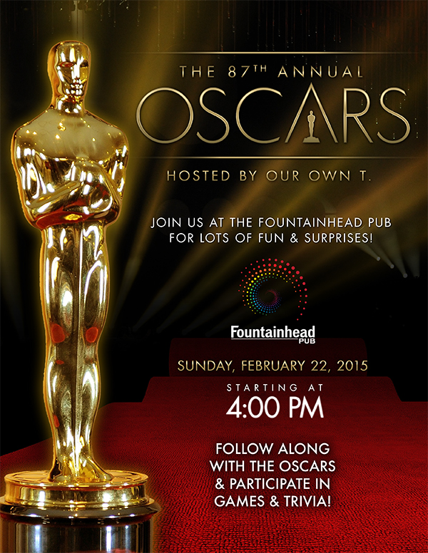 The 87th Annual Oscars @ The Fountainhead Pub