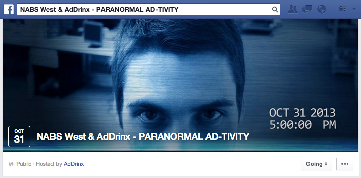 Paranormal Ad-tivity - Facebook Event Cover