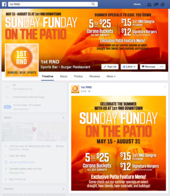 SUNday FUNday Facebook Graphics