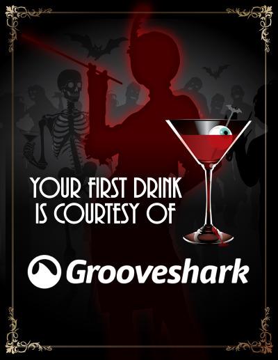 Spooky Speakeasy Sign - First Drink
