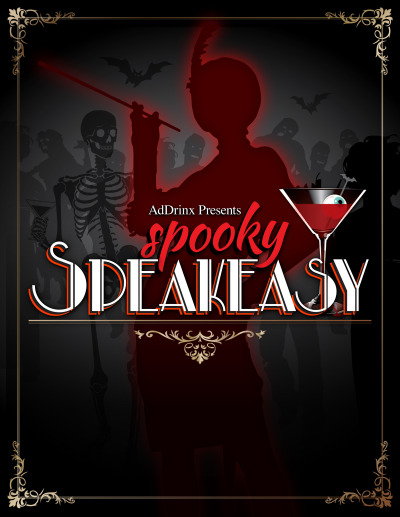 Spooky Speakeasy Sign