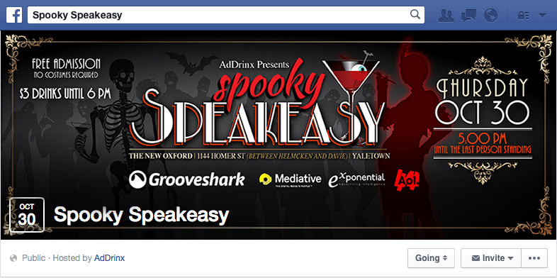 Spooky Speakeasy - Event Cover Photo