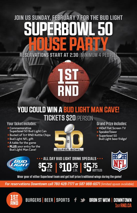 Super Bowl 50 Poster- 11x17