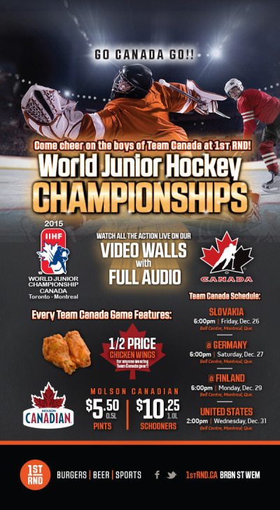 WJHC 2015 - Tabletop Sign